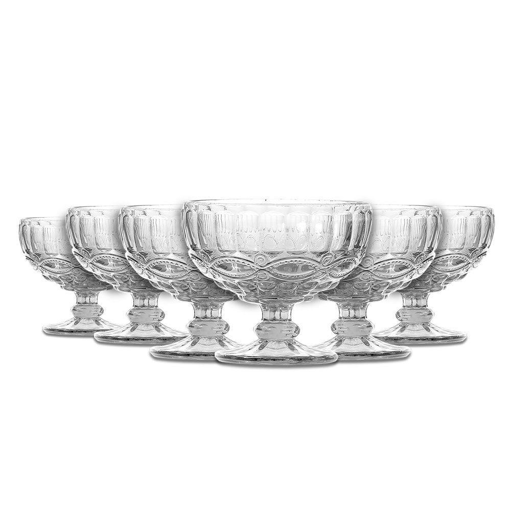 Jogo de Taças p/ Sobremesa Class Home Elegance Clear 310ml 487 - 6 Peças