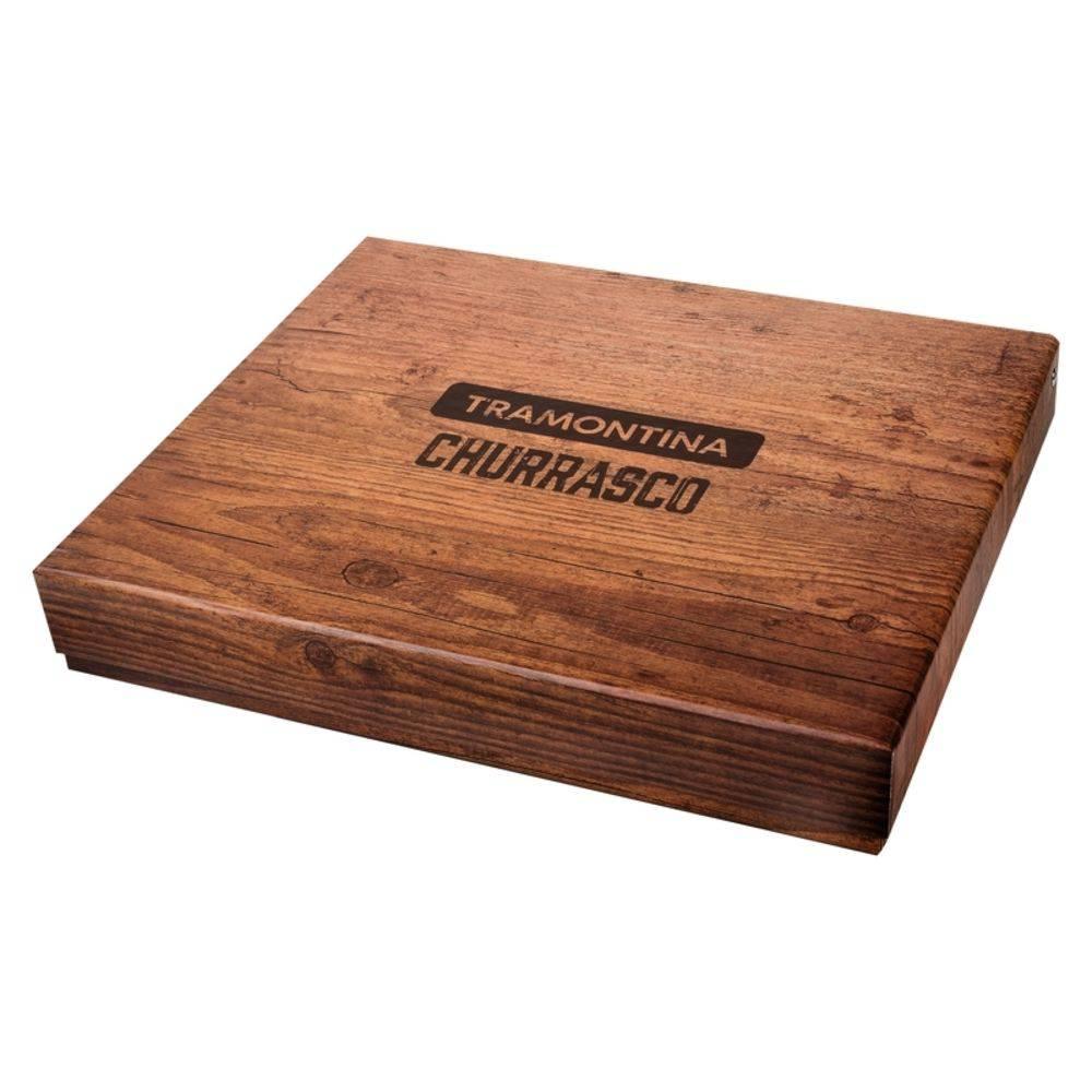 Kit para Churrasco Tramontina Polywood 21198770 - 15 Peças