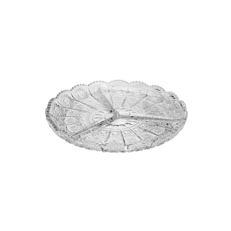 Petisqueira Wolff Starry em Cristal 23 cm 27579