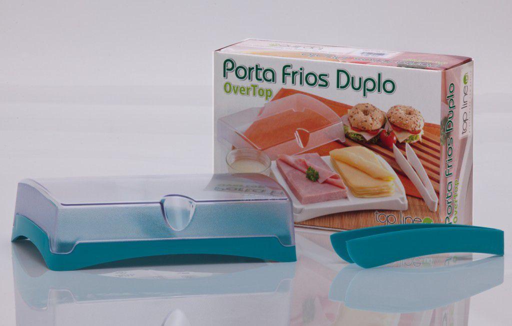 Porta Frios Top Line Overtop Verde 593-2