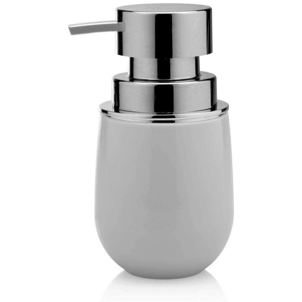 Porta Sabonete Líquido Ou Cromo Belly Branco PSB 725 BCF