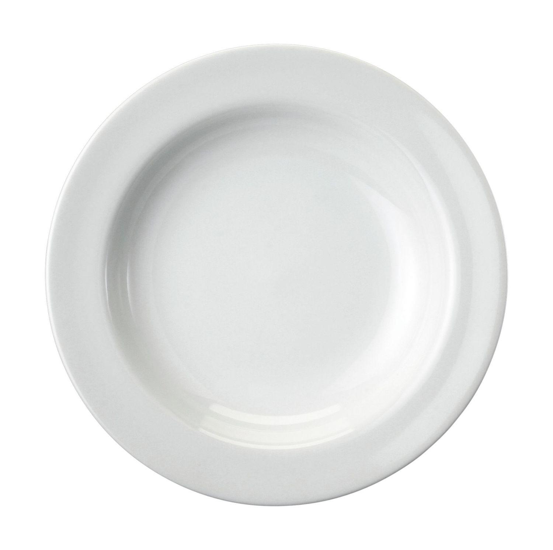 Prato Fundo Schmidt Cilíndrica em Porcelana 23cm 00183