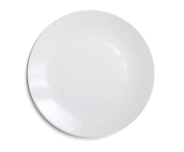 Prato Raso Cerâmica Turca RCHLO Casa Branco 25cm - Schmidt