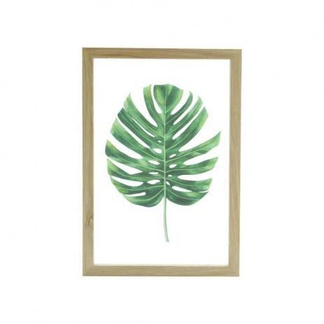 Quadro Urban Adam Leaf Verde 41924