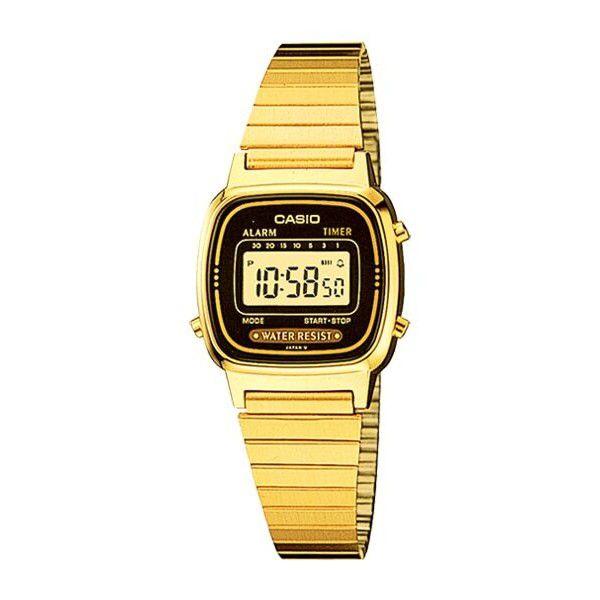 Relógio Feminino Casio Vintage LA670WGA-1DF
