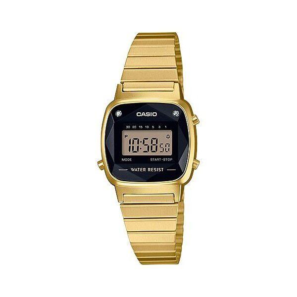 Relógio Feminino Casio Vintage LA670WGAD-1DF
