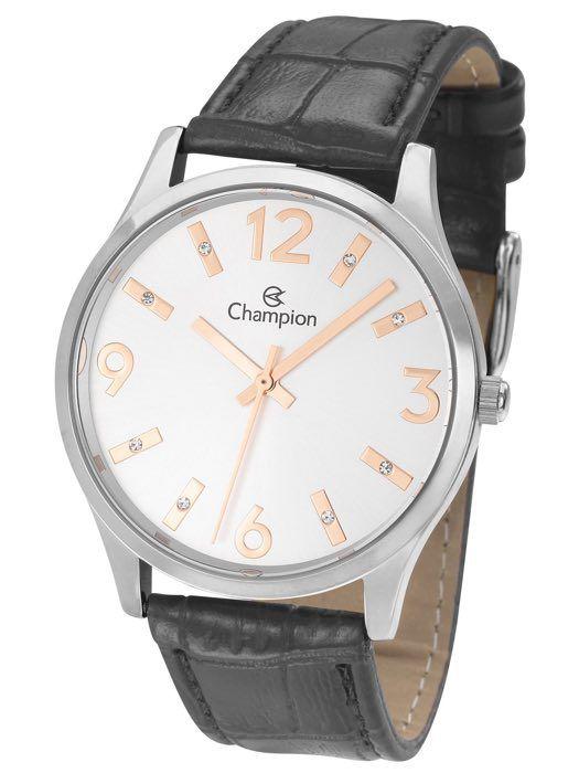 Relógio Feminino Champion Analogico Prata CN24217Q