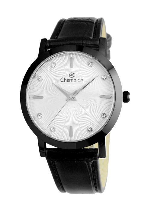 Relógio Feminino Champion Analogico Preto CN24226M