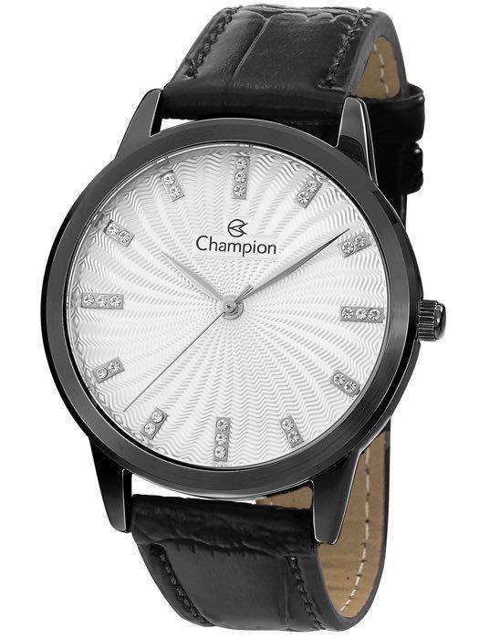 Relógio Feminino Champion Analogico Preto CN28286M