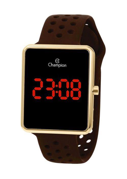 Relógio Feminino Champion Digital Dourado CH40081U