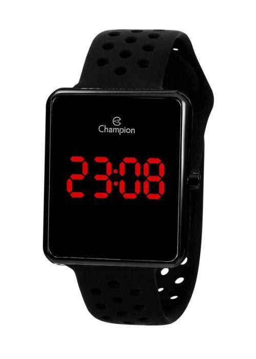 Relógio Feminino Champion Digital Preto CH40081D