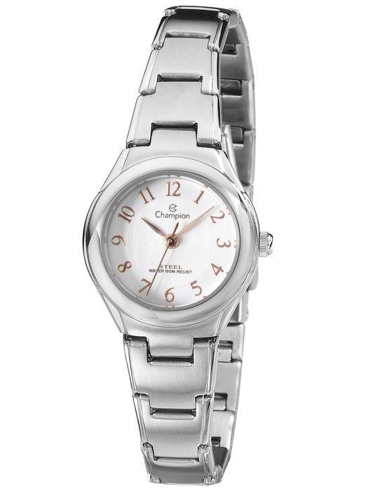 Relógio Feminino Champion Steel CS28138Q