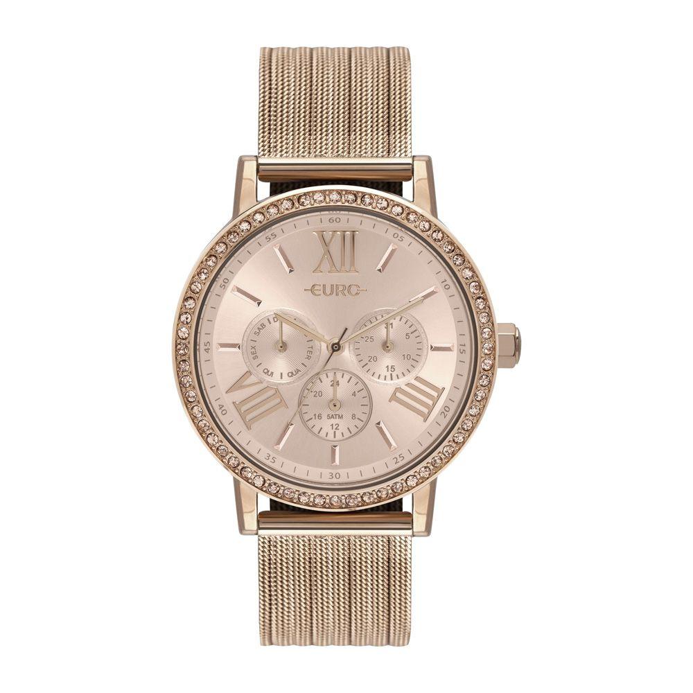 Relógio Feminino Euro Analógico Rosê EU6P29AHM/4J