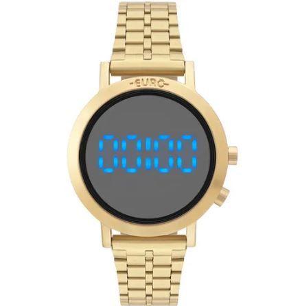 Relógio Feminino Euro Fashion Fit Dourado EUBJ3407AA/T4P