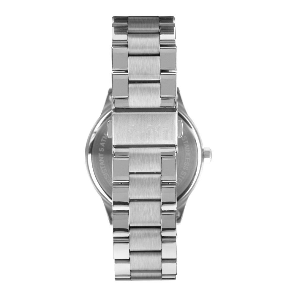 Relógio Feminino Euro Glitter Fever Prata EU2036YOK/3K