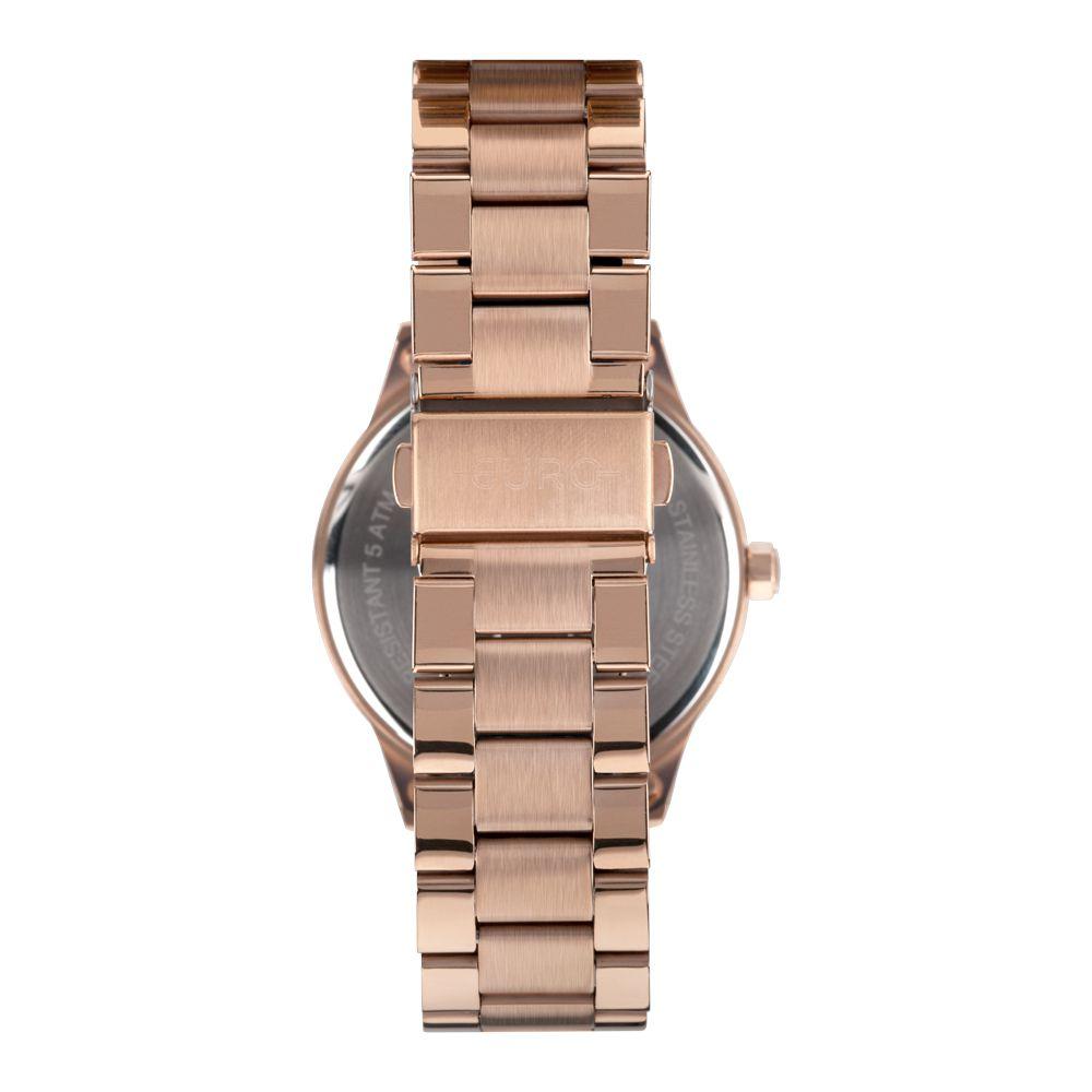 Relógio Feminino Euro Glitter Fever Rose EU2036YOG/4C