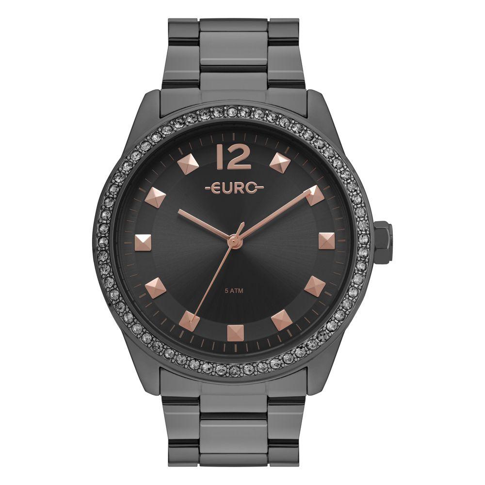 Relógio Feminino Euro Maxi Trendy EU2035YRN/4C