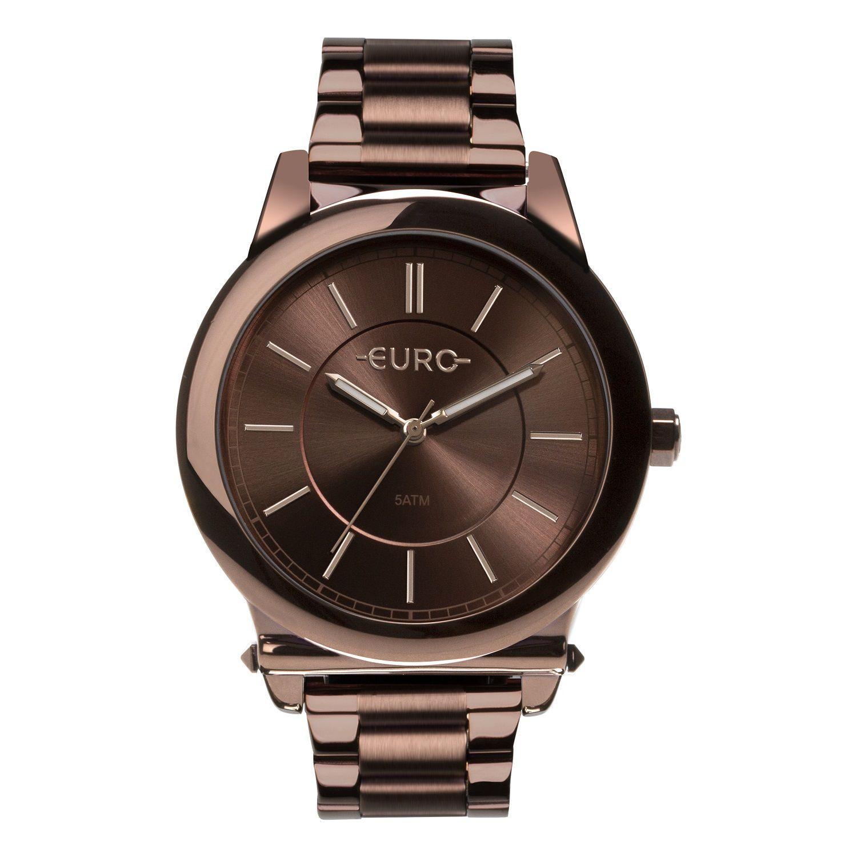 Relógio Feminino Euro Metal Trendy EU2036YMR/4M