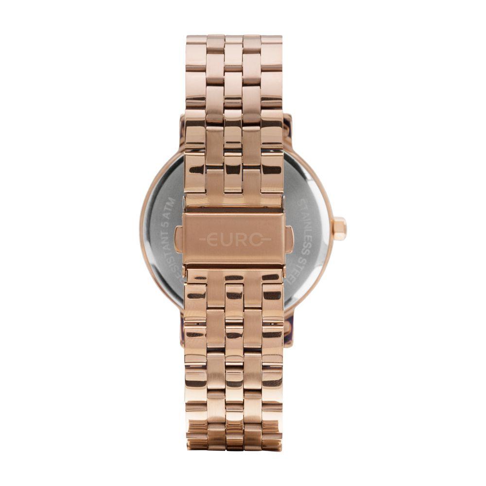 Relógio Feminino Euro Minimal Spike Rose EU2036YOR/4J