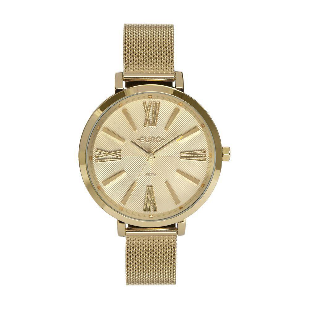 Relógio Feminino Euro Soul Dourado EU2036YPR/4D