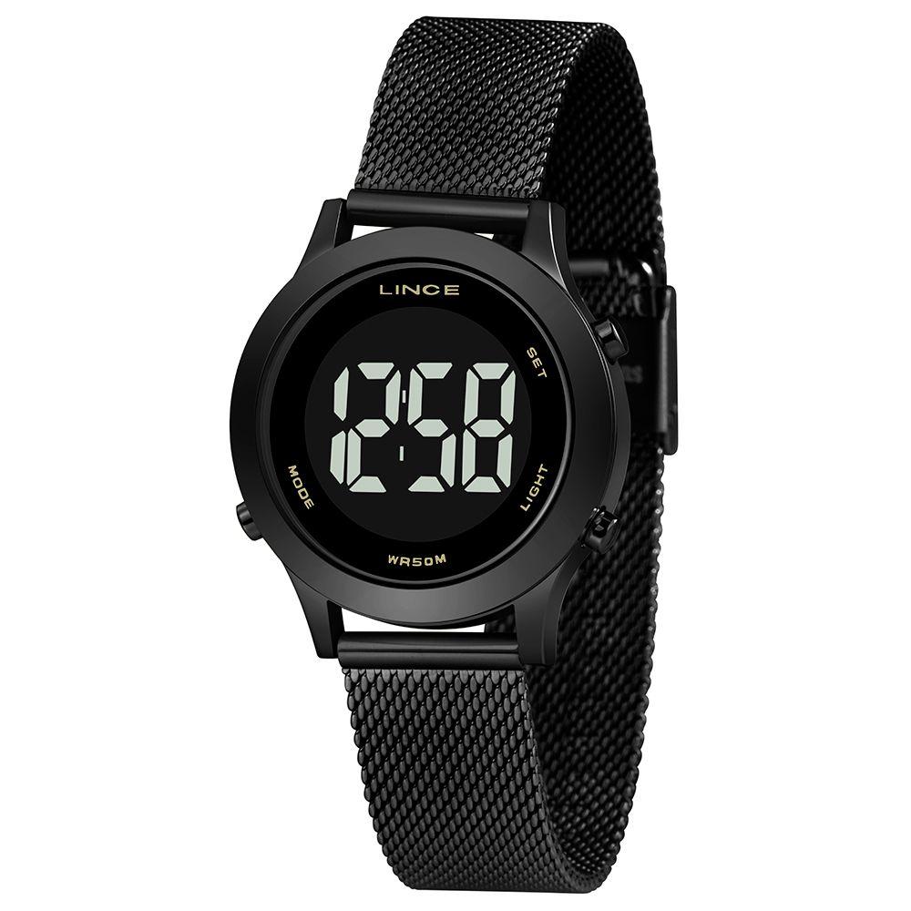 Relógio Feminino Lince Digital Preto SDPH112L-PXPX
