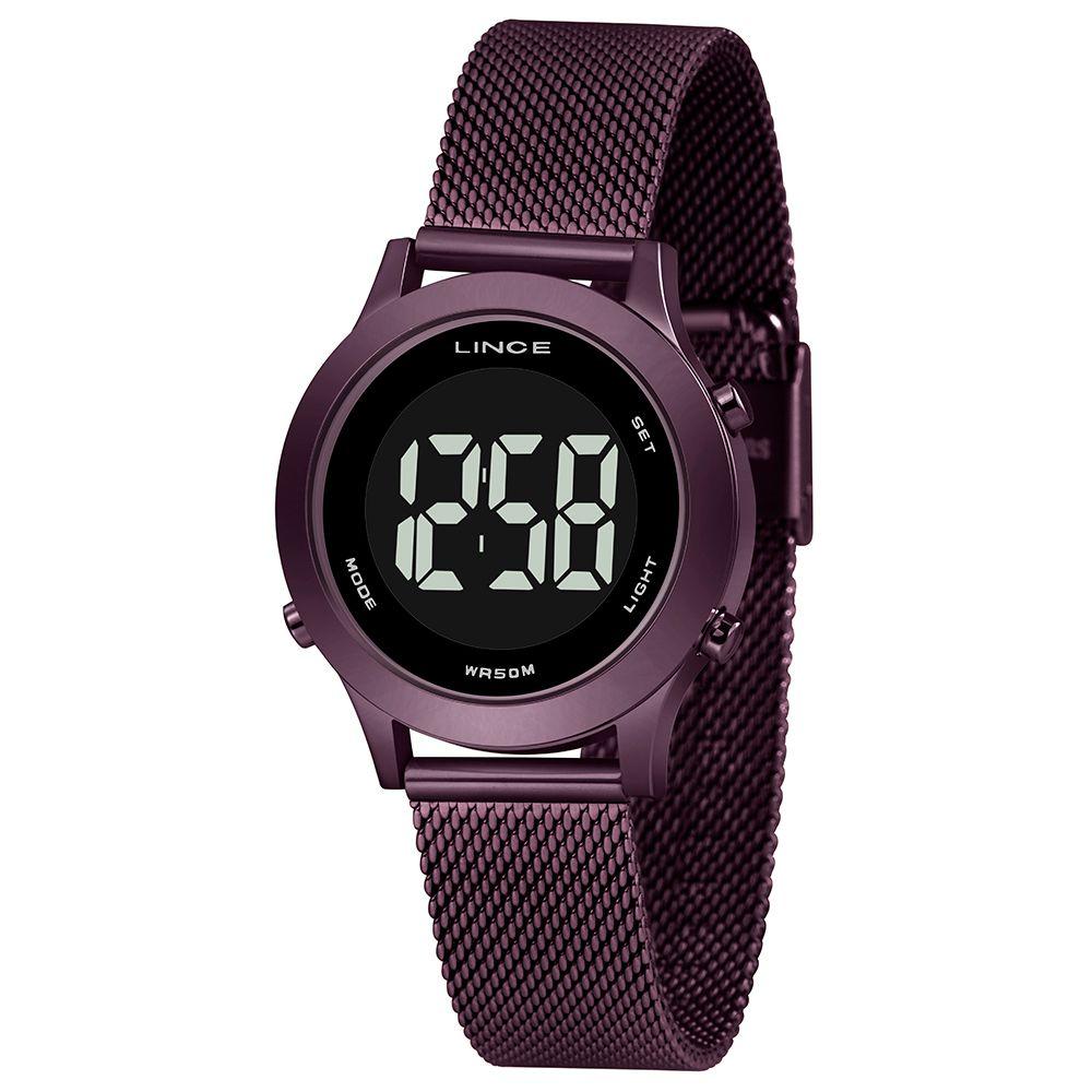 Relógio Feminino Lince Digital Violeta SDPH115L-PXUX