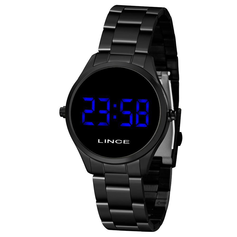 Relógio Feminino Lince LED Preto MDN4617L-DXPX