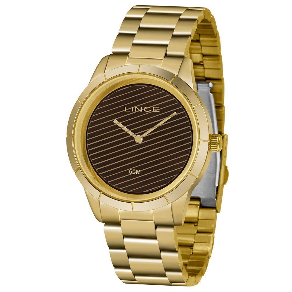Relógio Feminino Lince Urban Dourado LRG625L-N1KX