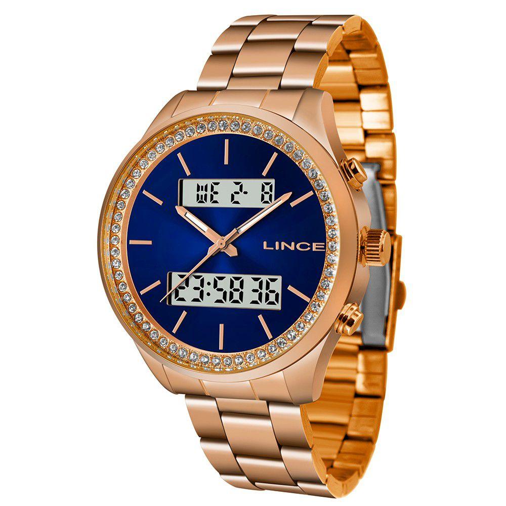 Relógio Feminino Lince Urban LAR4591L-D1RX
