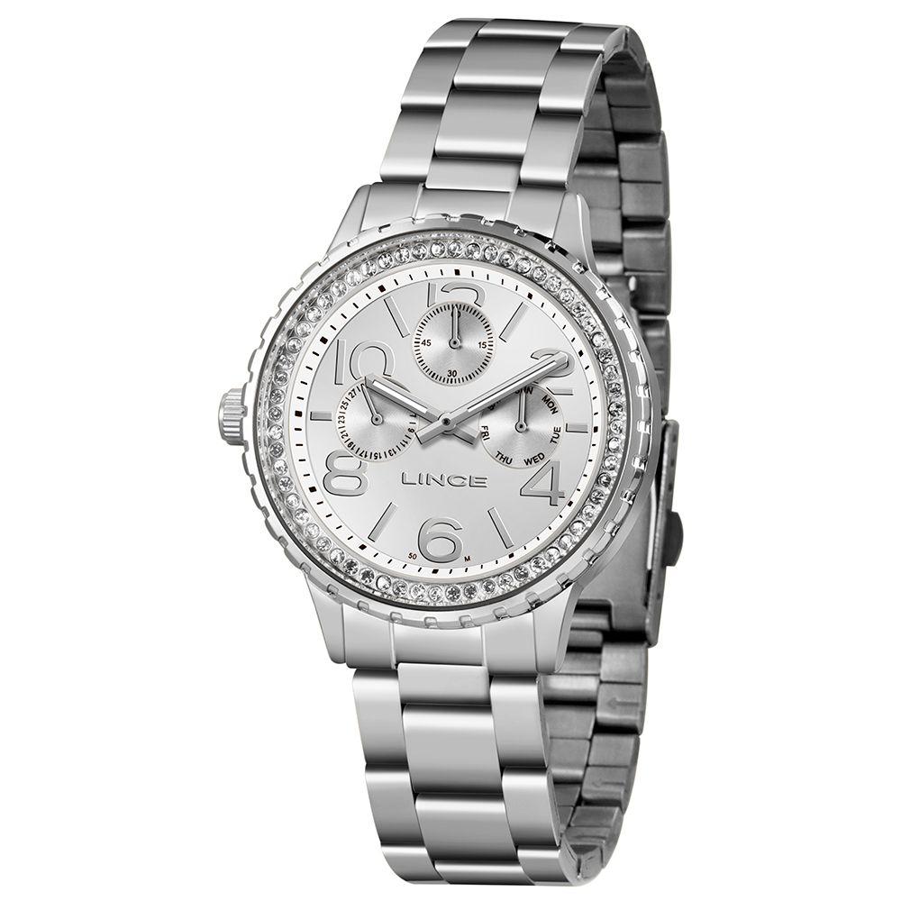 Relógio Feminino Lince Urban Prata LMM4624L-S2SX