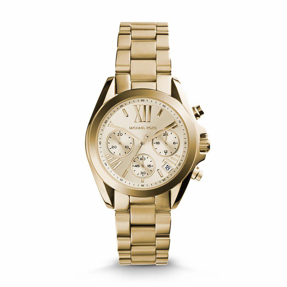 Relógio Feminino Michael Kors Bradshaw Dourado MK5798/4DN