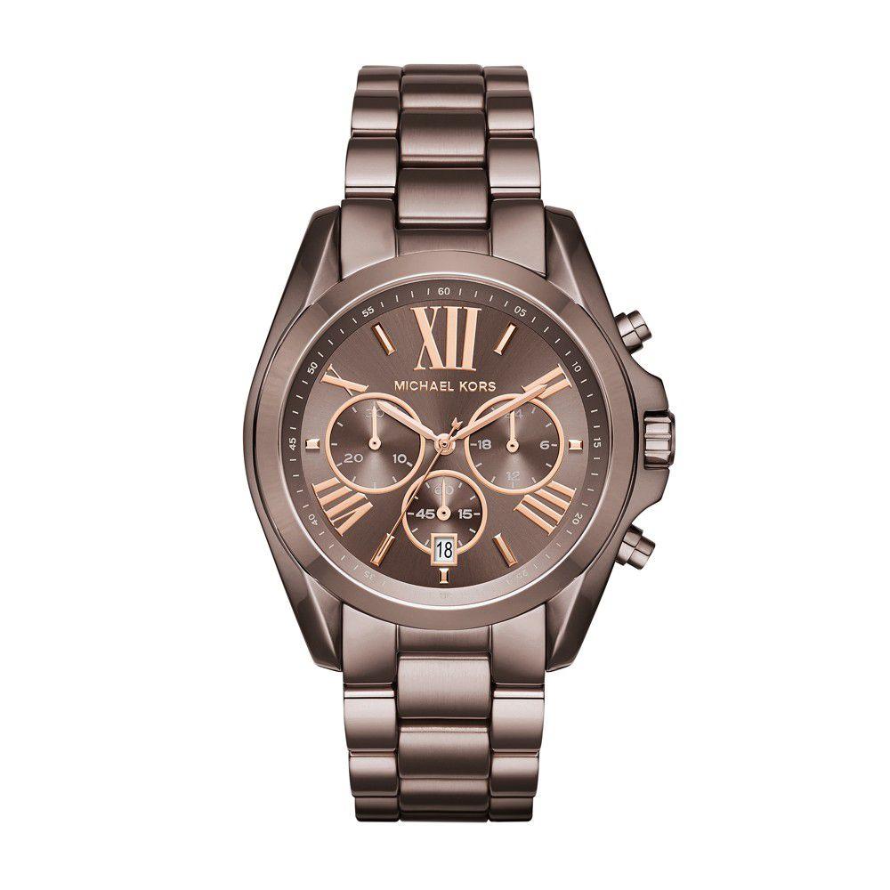Relógio Feminino Michael Kors Bradshaw Marrom MK6247/4MN