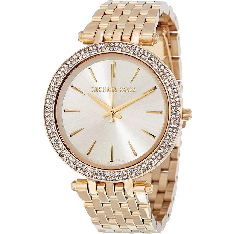 Relógio Feminino Michael Kors Darci Dourado MK3191/4DN