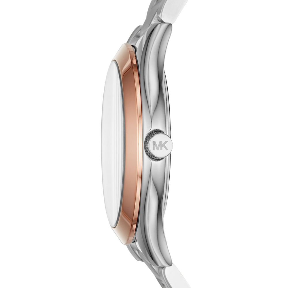 Relógio Feminino Michael Kors Mini Slim Runway Rosê MK3514/1KN