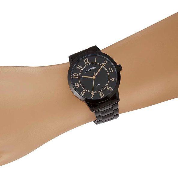 Relógio Feminino Mondaine Casual Preto 83469LPMVPE3