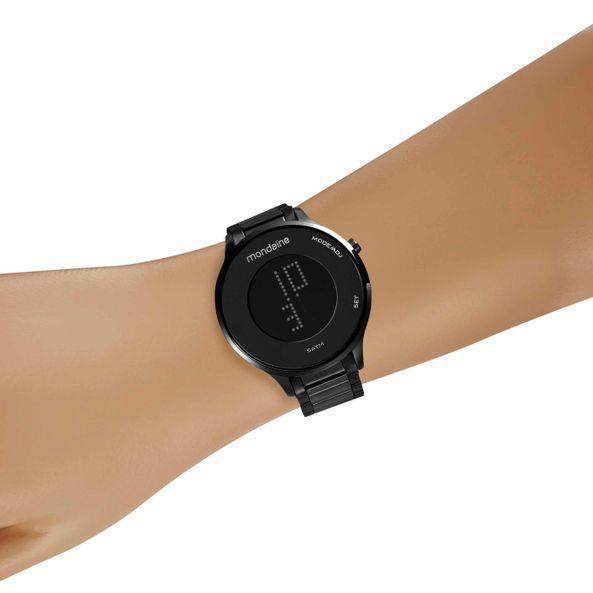 Relógio Feminino Mondaine Digital 53786LPMVPE3