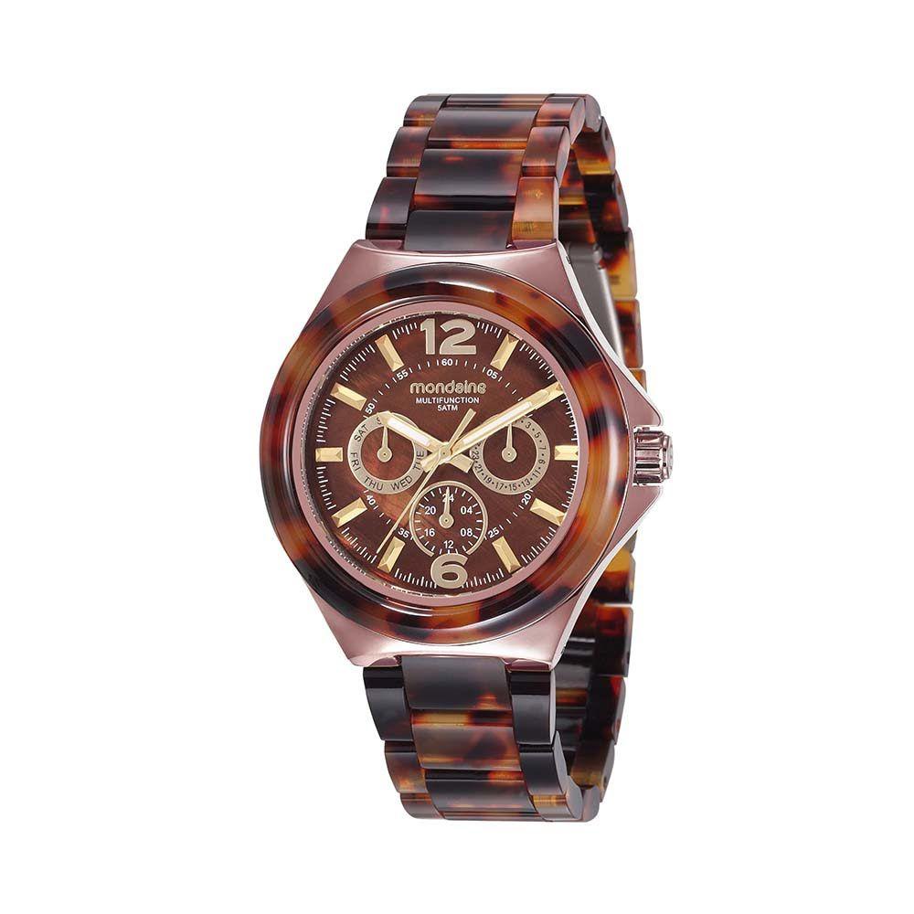 Relógio Feminino Mondaine Multifunção em Resina 99331LPMVMF1