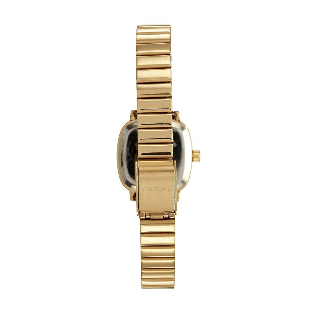 Relógio Feminino Mondaine Analógico Rosa Kit c/ Pulseira 53643LPMVDE1K1