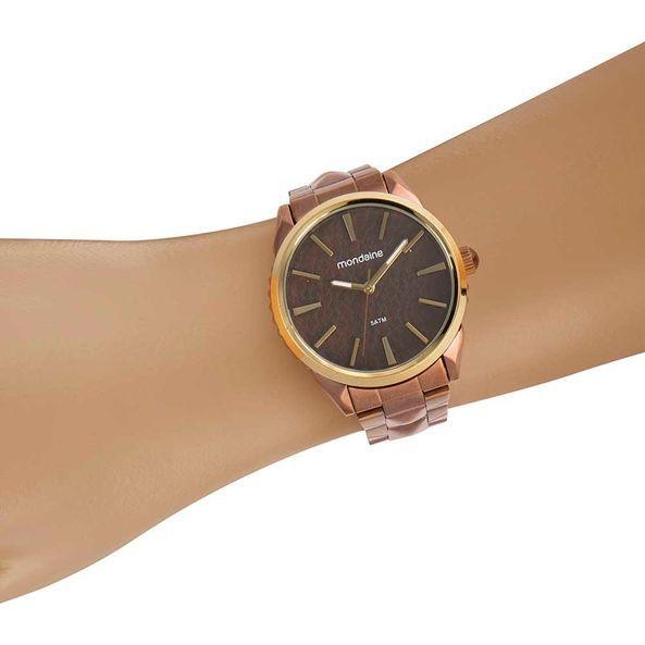 Relógio Feminino Mondaine Texturizado Spikes 53752LPMVME4
