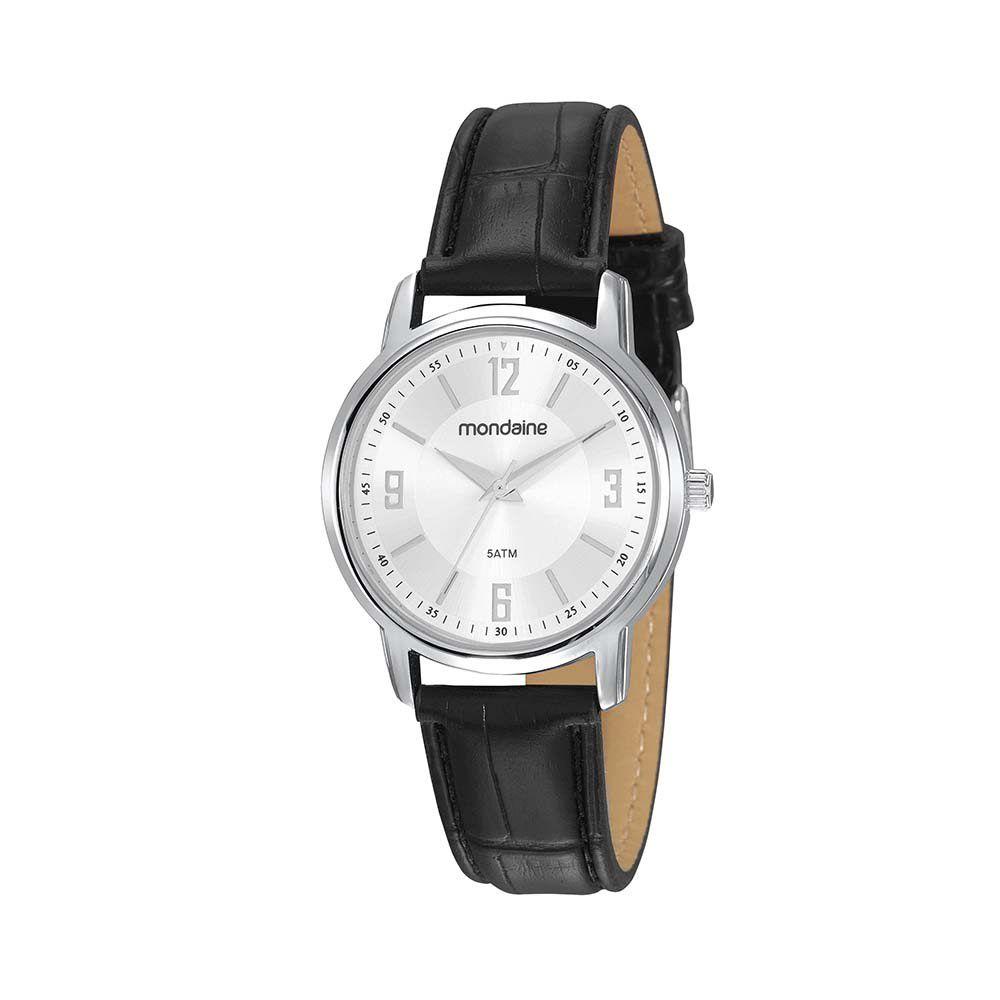 Relógio Feminino Mondaine Vintage Prata 83475L0MVNH1