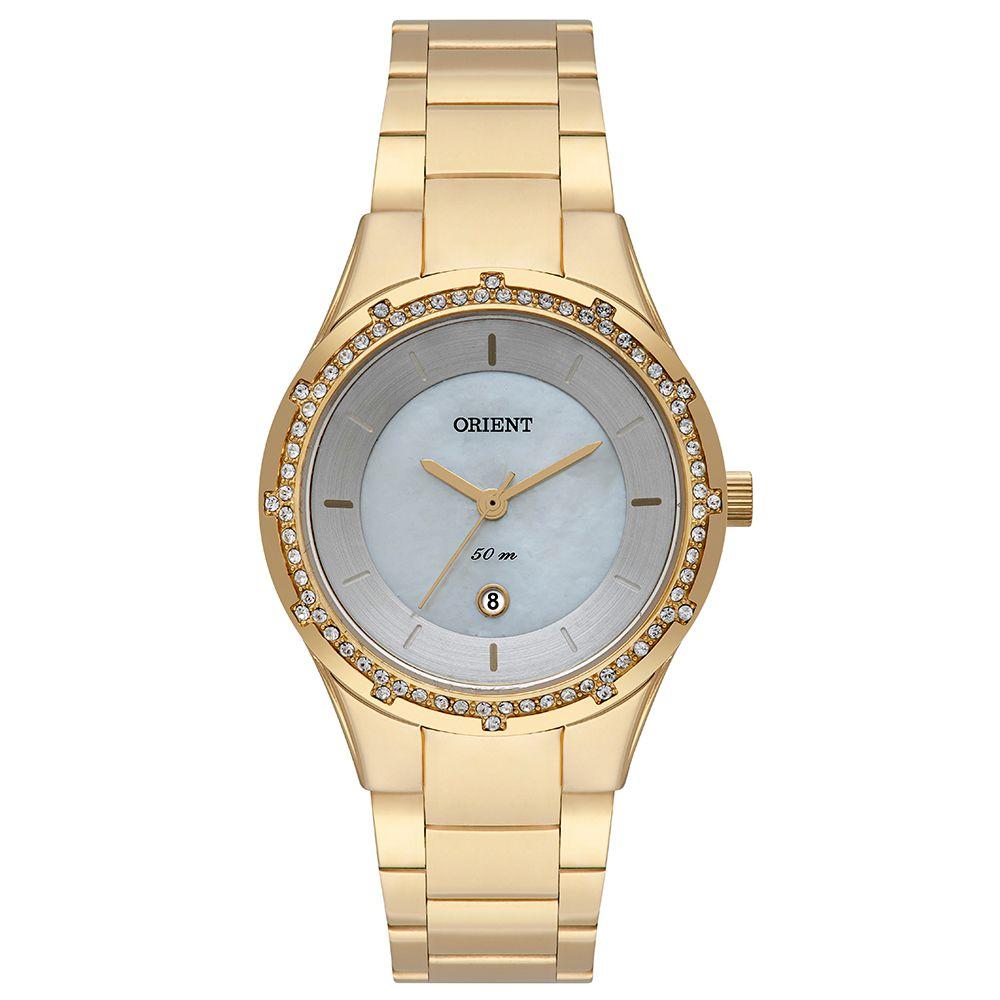 Relógio Feminino Orient Eternal Dourado FGSS1184-B1KX