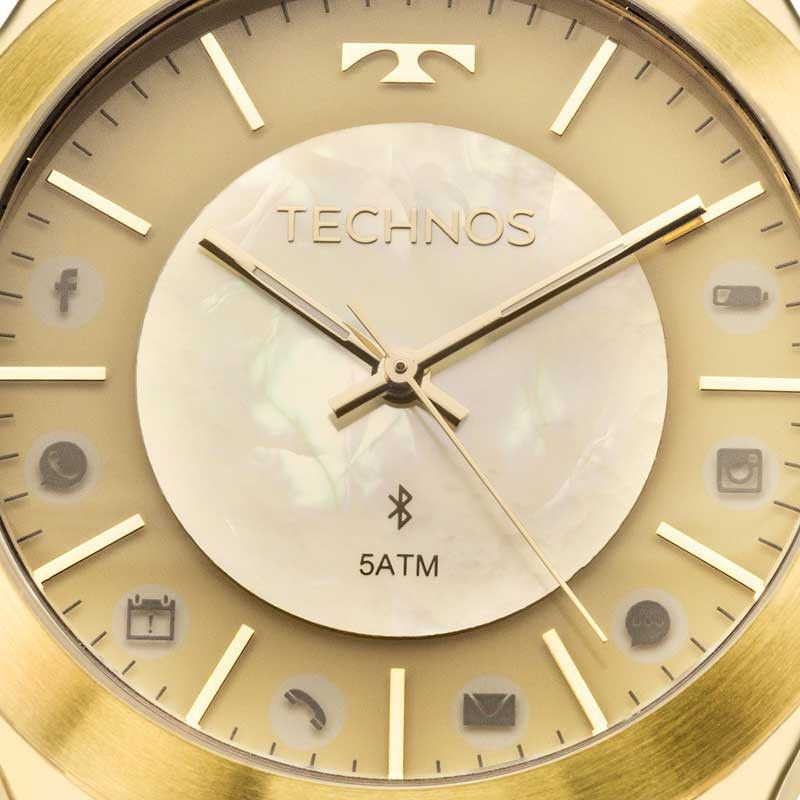 Relógio Feminino Technos Elegance Connect 753AE/4X