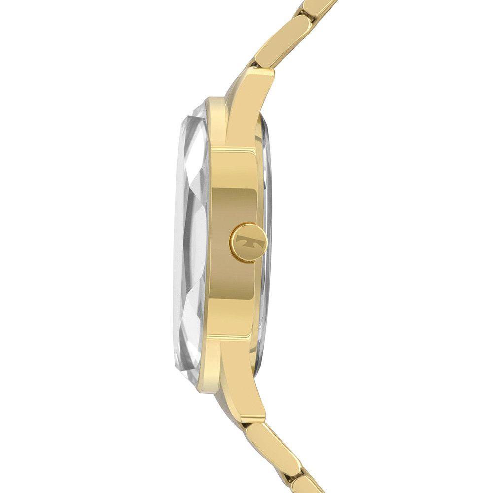 Relógio Feminino Technos Elegance Crystal 2036MKH/4X
