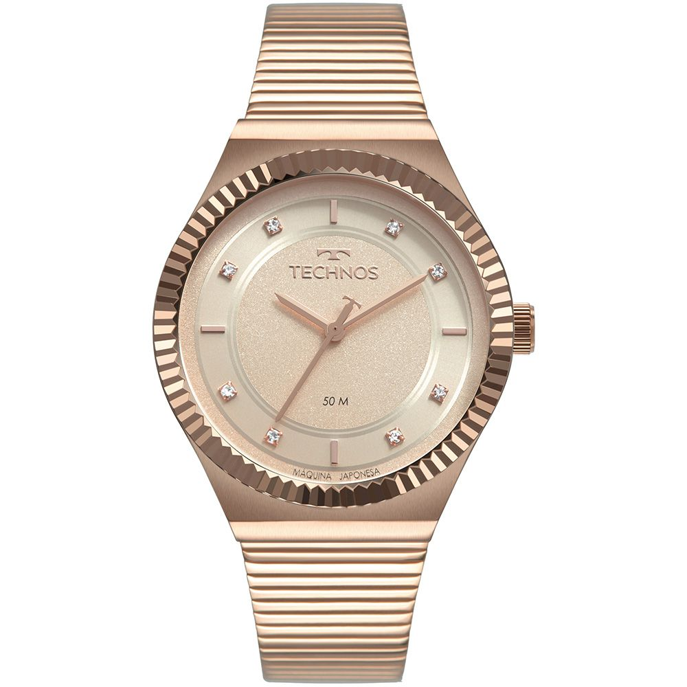 Relógio Feminino Technos Trend Rose 2035MRV/4T