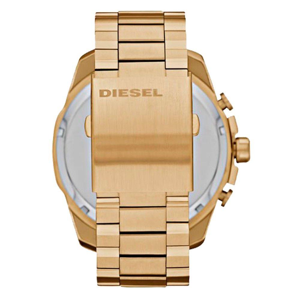 Relógio Masculino Diesel Mega Chief Dourado DZ4360/4DN