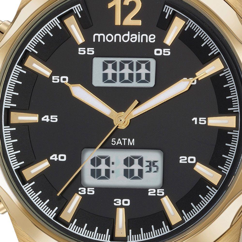 Relógio Masculino Mondaine 99381GPMVDH2