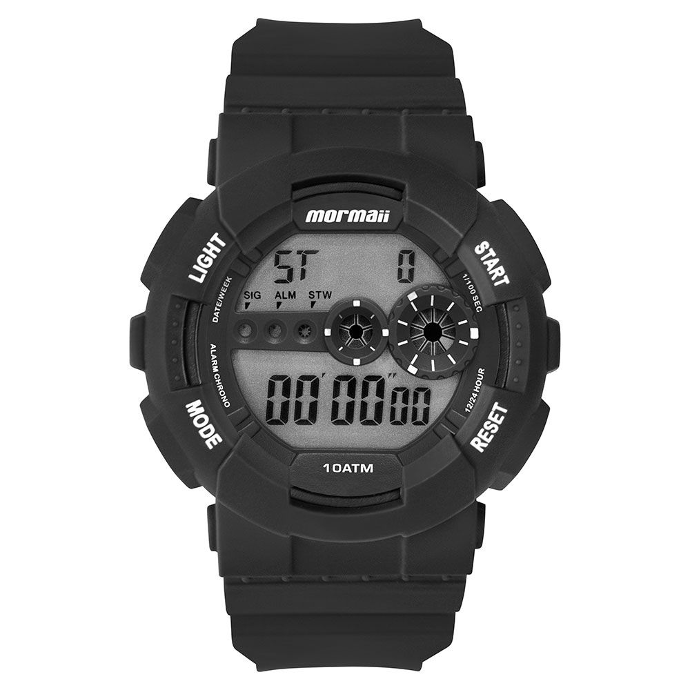 Relógio Masculino Mormaii Wave Preto MO9210AA/8P