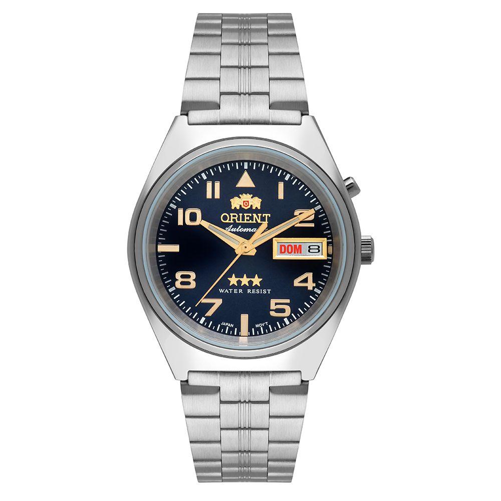 Relógio Masculino Orient Automatic Clássico 469SS083-D2SX