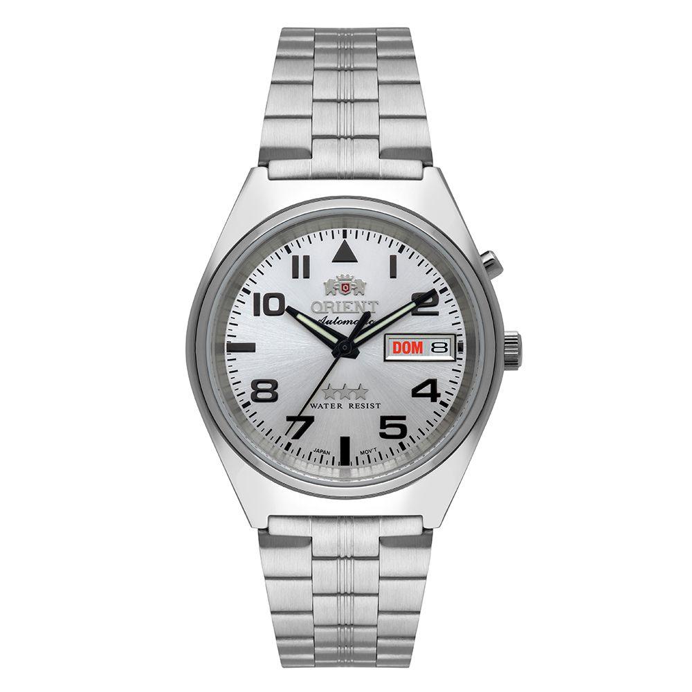 Relógio Masculino Orient Automatic Clássico 469SS083-S2SX