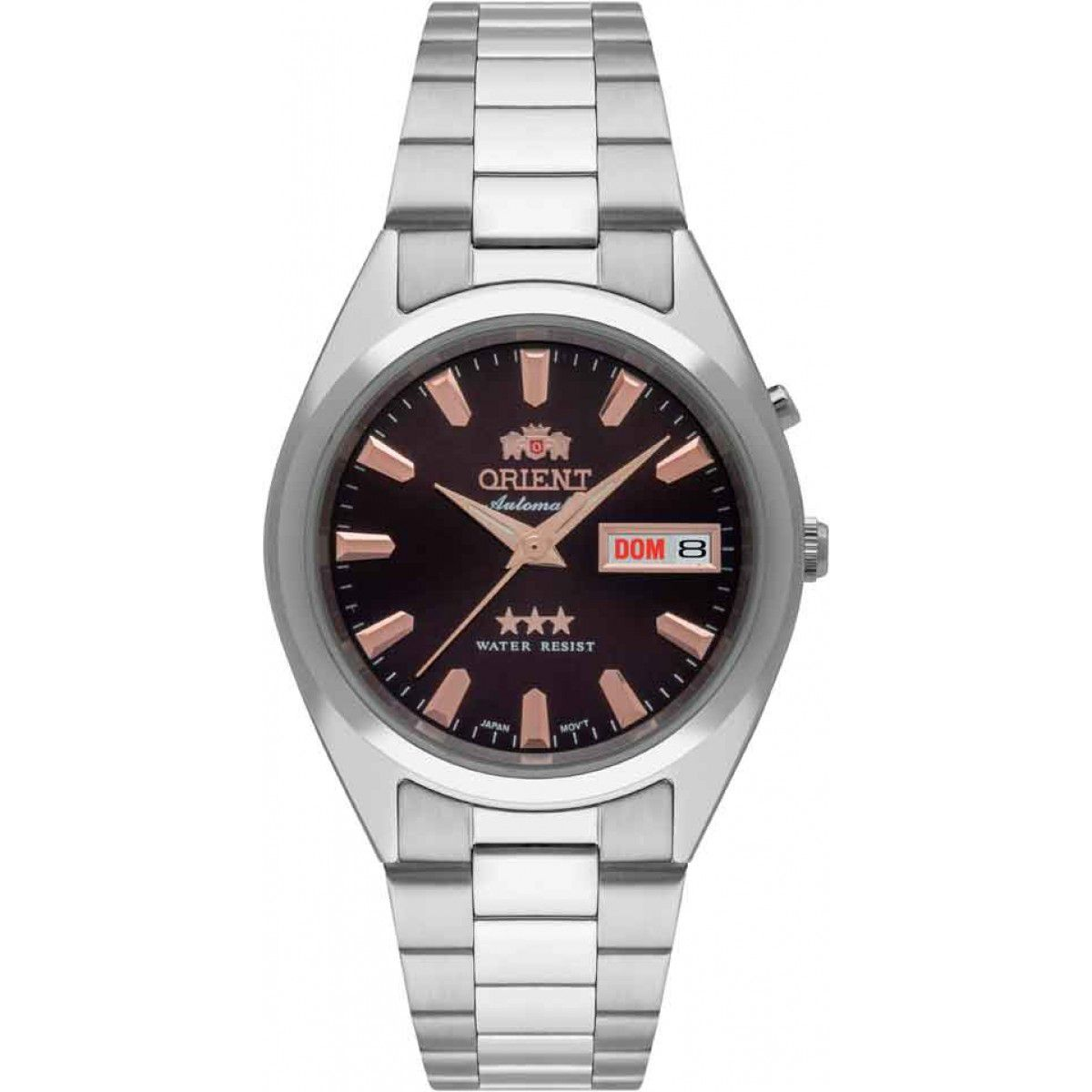 Relógio Masculino Orient Automatic Clássico 469SS084-N1SX